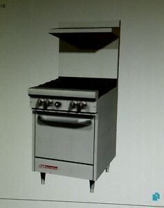 Southbend S24e Gas Range With 4 Burners And 1 Stanard Oven