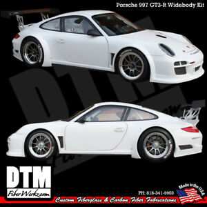 Porsche 997 05 12 Gt3 r Dtm Style Widebody Kit Body Made In Usa