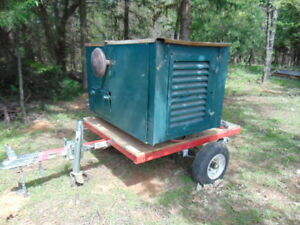 Kohler 7kw Generator Gas Natural Gas 120 240 Volt Trailer Hunting Lease