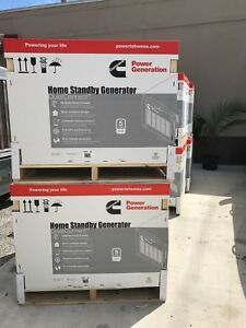 Cummins Home Standby Generator 20kw Brand New