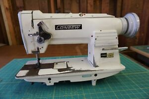 Consew 255rb 2 Industrial Walking Foot Sewing Machine head Only