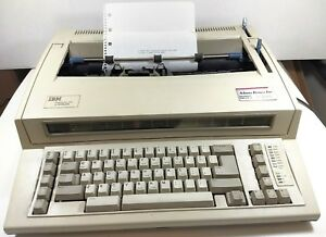 Ibm Wheelwriter 1000 By Lexmark Typewriter Works Great