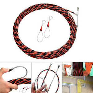 Electrician Wire Thread Device Binders Kit Cable Wiring Aid Tools Steel 5 50m