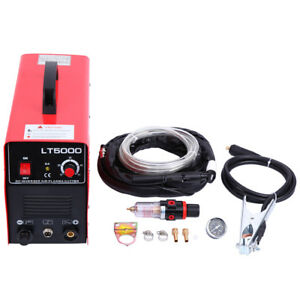 Lt5000d Plasma Cutter 50amps Dual Voltage Metal Cutting Machine Cutter 110 220v