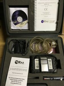 Confined Space Air Monitor Rae Pgm 50q 4 gas Detection With Pump Datalogging