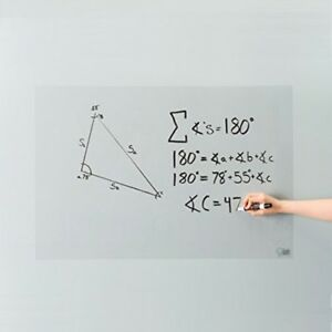 Self adhesive Whiteboard Wall Sticker Removal Wall Decals Board For Home Office