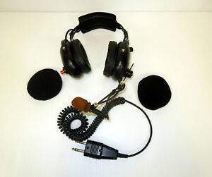Firecom Firefighter Headset Headphones With Microphone Radio Transmitter Fh 1