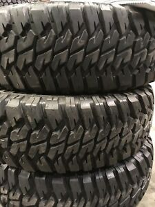 37x12 50r16 5 Used Goodyear Mtr Military Tires