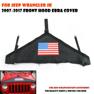 Front Hood Cover Bra Protector T Style Protector Kit For 2007 Jeep Wrangler Jk