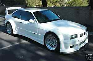Bmw E36 Gtr Race Wide Body Kit 2dr 92 99 Frp