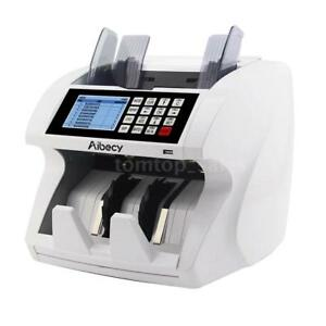 Mix Value Mix Cash Counting Money Currency Counter Bank Machine Uv Ir Detector