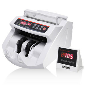 New Money Bill Counter Counting Machine Counterfeit Detector Uv