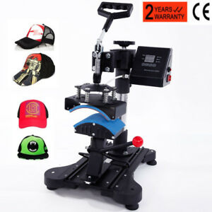 6 X 3 Cap Hat Heat Press Machine Heating Transfer Machine Diy Print Pattern