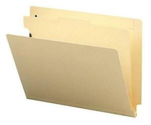 Smead End Tab Classification File Folder 1 Divider 2 Expansion Letter Size