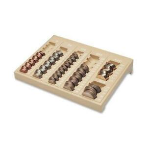 Mmf221611003 Mmf One piece Plastic Countex Ii Coin Tray W 6 Compartments