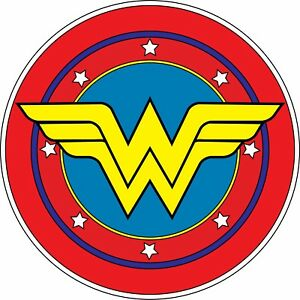 Wonder Woman Logo Vinyl Sticker Batman Car Wall Decal Dawn Of Justice