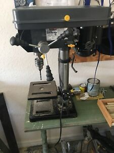 Central Machinery Bench Drill Press 12 Speeds Nice