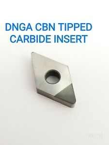 Dnga 431 432 433 Cbn Tipped Carbide Inserts