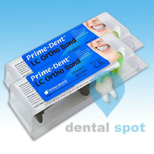 Pack Of 2 Prime dent Light Cure Orthodontic Adhesive Bonding