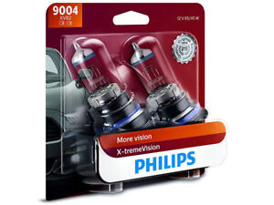 2x Philips 9004 Hb1 X tremevision Upgrade 100 Extra More Bright Light Bulb 65w
