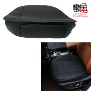 Black Universal Car Part Deluxe Pu Leather Car Seat Protector Cushion Seat Cover