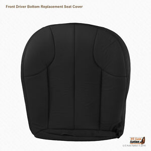 1999 To 2001 Jeep Grand Cherokee Laredo Driver Bottom Leather Seat Cover Black