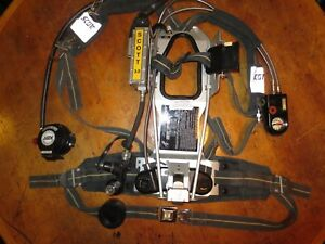 Scott 3 0 Ap50 Air Pack Intigrated Pass Scba Harness Sei Certified Edition 2002