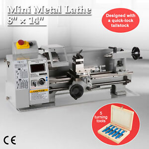 Variable speed Mini Metal Lathe 8 X 14 High Quality 650w Woodworking Tools