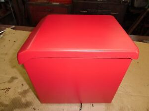 International Farmall Tractor H W4 Su h Battery Box With Lid Gas Engine