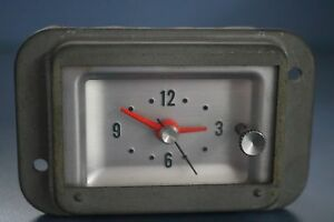 Vintage 1963 Mercury Dash Clock tested