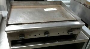 Used 36 Tri star Nat Gas Countertop Griddle