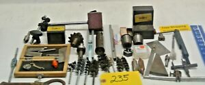 Batch Of 36 Used Misc Machine Shop Tools Free Shipping