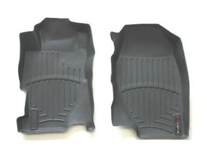 2001 2005 Honda Civic Front Rubber All Weather Season Floor Mats Rugs Black Used