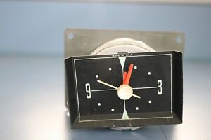 Vintage 1960 Chrysler Plymouth Dash Clock tested