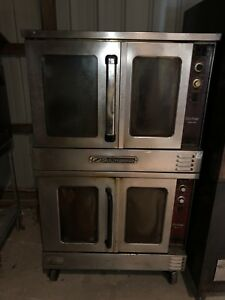 South Bend Silverstar Double stack Gas Convection Oven Slgb 22sc