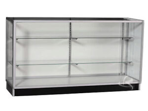 70 Extra Vision Showcase Display Case Store Fixture Fully Assembled kd6g