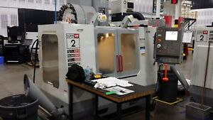 Used 2004 Haas Vf 2ss Cnc Vertical Machining Center Mill 12k Rpm 4th Ready Rigid
