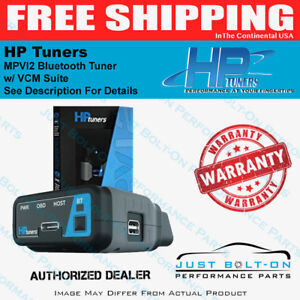 Hp Tuners Mpvi2 Tuner Vcm Suite vcm Editor Scanner M02 000 00 No Credits