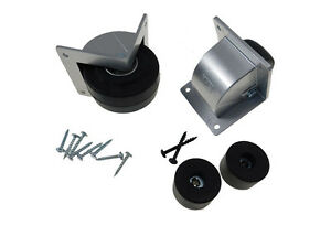 3 Recessed Caster Speaker Mounting Kit Silver Housing 511 2296800 f1686 25