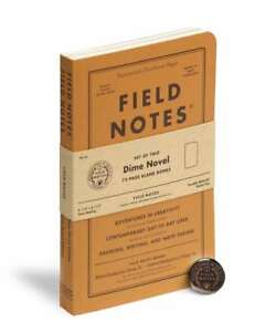 Field Notes Dime Novel Special Ed Notebooks New Sealed With Button