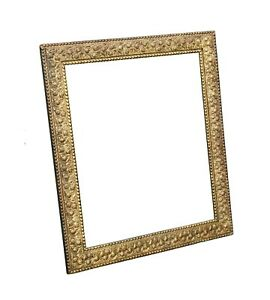 Large Antique Gold Gilt Picture Frame 21 3 8 X 25 5 8 Rabbet Size