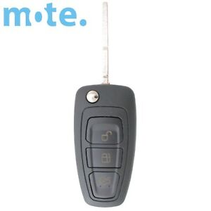 Complete Ford Transponder Remote Flip Car Key C max grand galaxy focus mondeo