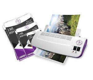 Purple Cows Hot And Cold 9 Laminator Warms Up In Just 3 5 Minutes With 5