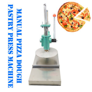 New 9 5 Inch Pizza Dough Pastry Manual Press Machine Roller Sheeter Pasta Maker