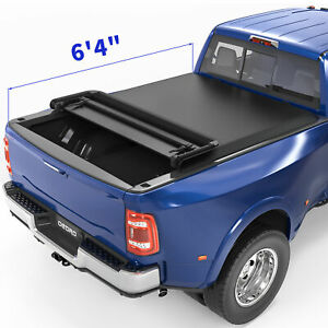 Yita Tri Fold Truck Bed Tonneau Cover Fit For 09 18 Dodge Ram 1500 5 8ft Bed