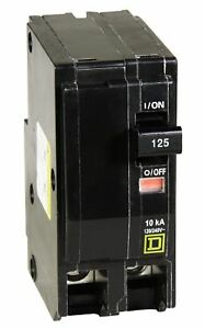 Square D By Schneider Electric Qo2125cp Qo 125 amp Two pole Circuit Breaker
