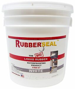 Rubberseal Liquid Rubber Waterproofing And Protective Coating Roll On White 2