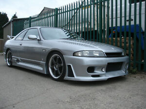 A Front Bumper Body Kits For Nissan Skyline R33 Gts Jun style Frp Fiber Glass