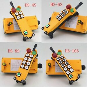 1 Speed Hoist Crane Truck Radio Remote Control System With E stop 1 Transimtter