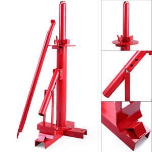 Red New Tools Tire Changer Manual Tire Changer Heavy Duty Changer Bead Breaker